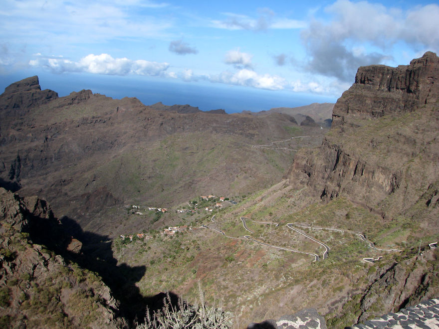 Road To Masca Valley - Tenerife, Spain