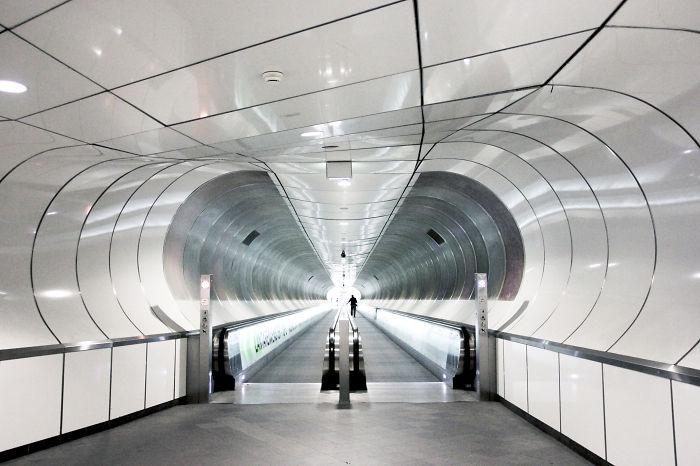 Metro Station Wilhelminaplein, Rotterdam, The Netherlands