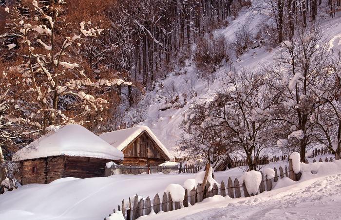 Winter In Jiu Valley