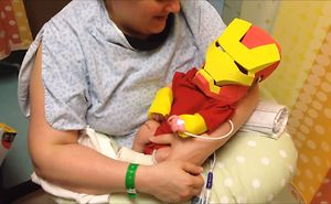 This Doting Dad Made His Baby Boy An Iron Man Costume So He Can Get Well Soon