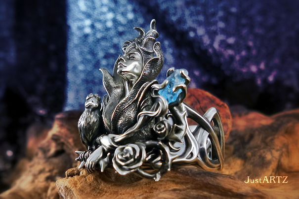 """maleficent"" Ring"