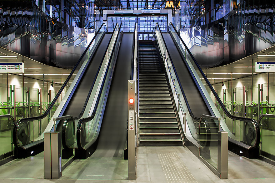 Metrostation Wilhelminaplein