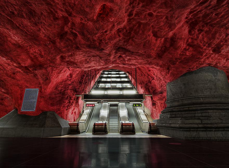 Rådhuset Station, Stockholm, Sweden
