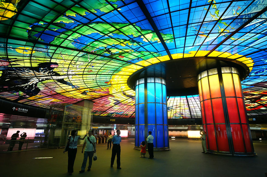 Formosa Boulevard Station, Kaohsiung, Taiwan