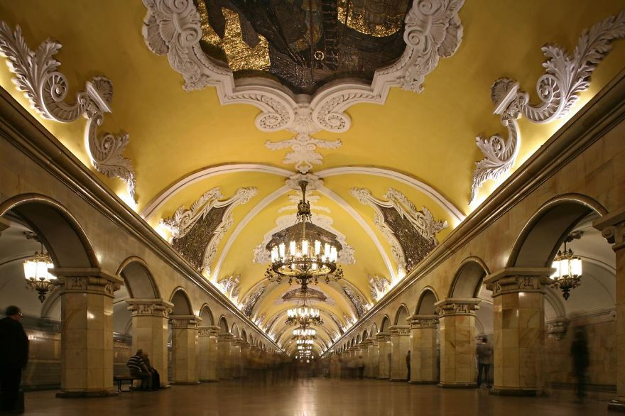 15 of the most beautiful metro stations in the world bored panda. Black Bedroom Furniture Sets. Home Design Ideas