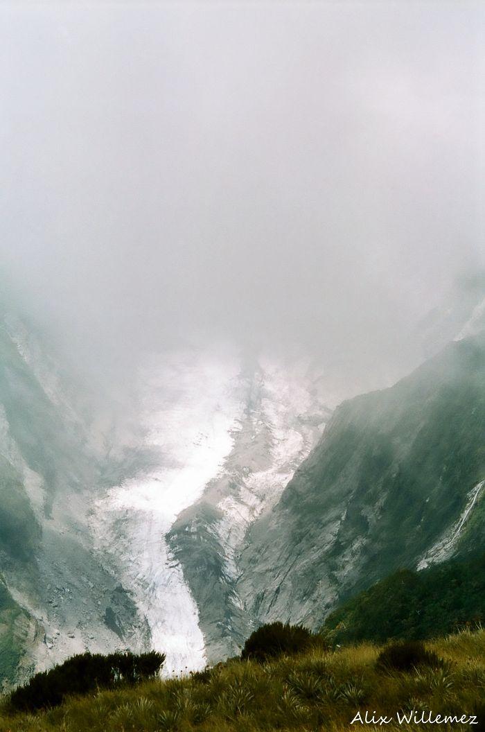 Glacier Morning Mist