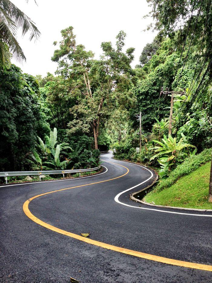 Naithon Beach Road, Phuket, Thailand