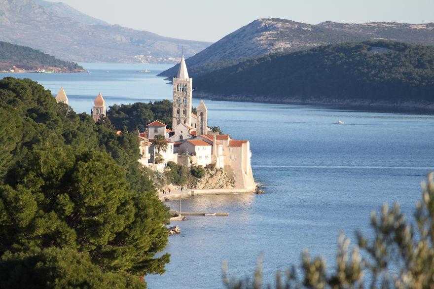 Town Rab, Croatia