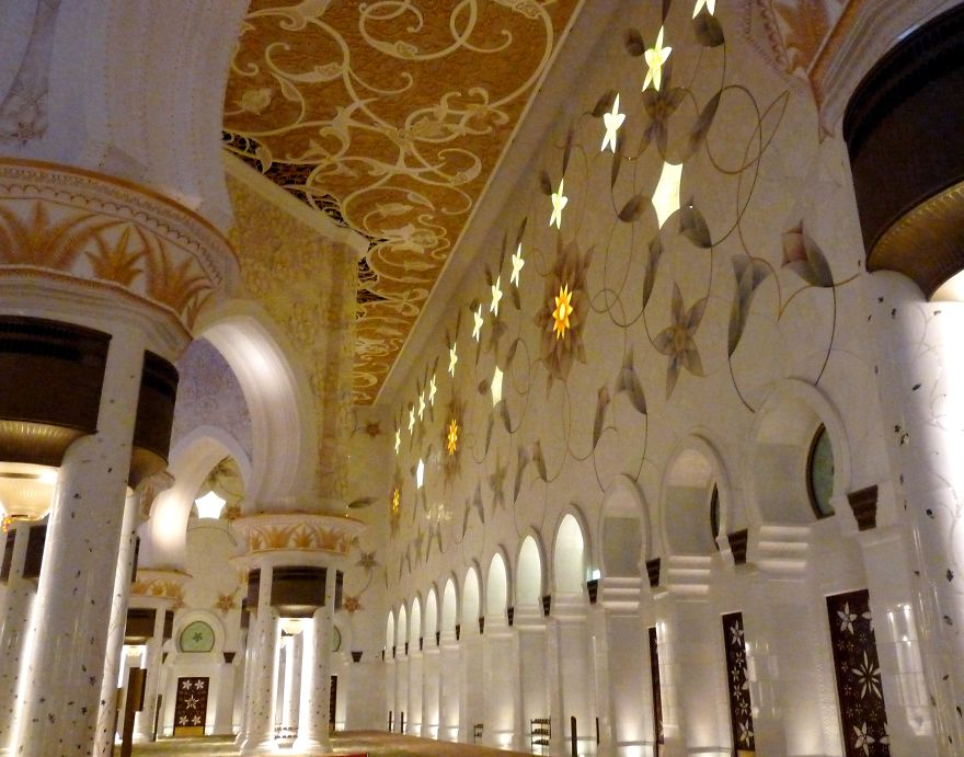 Shaikh Zayed Mosque, Abo Dhabi