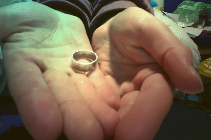 The Ring Has Quote From Psalms