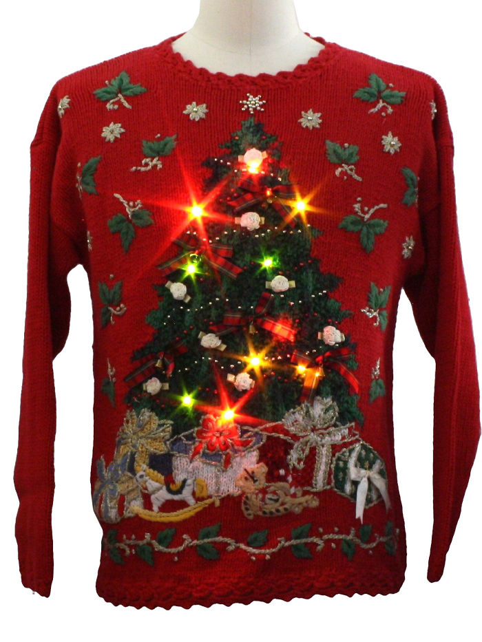 Post Pictures Of Ugly Christmas Sweaters