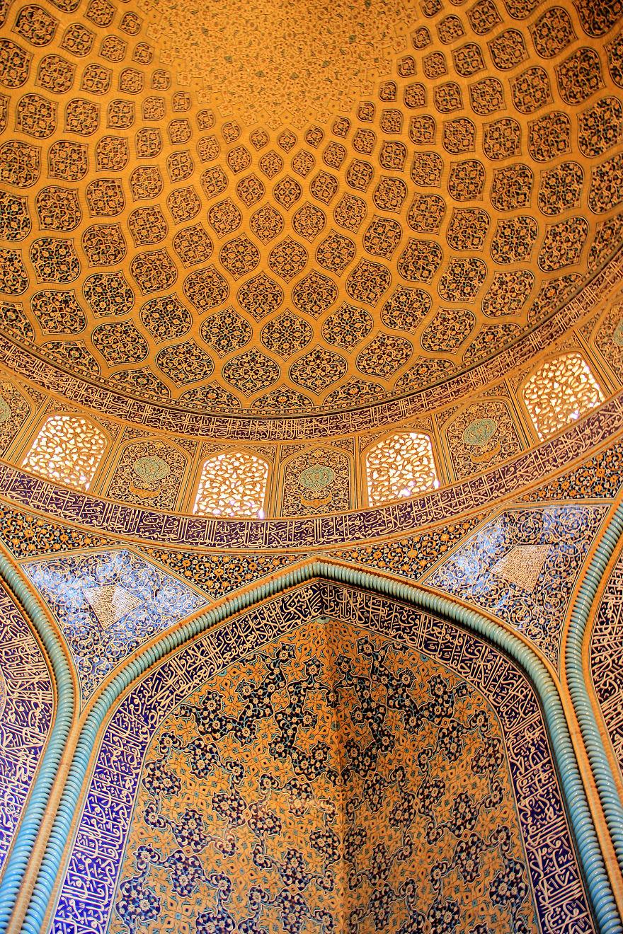 Iran Isfahan Shikh Lotfollah Mosque