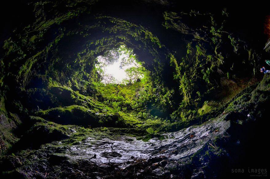 Algar Do Carvão, Ilha Terceira, Azores
