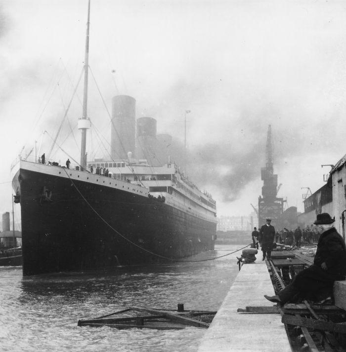 Titanic Departure, Southampton, Uk, 1912
