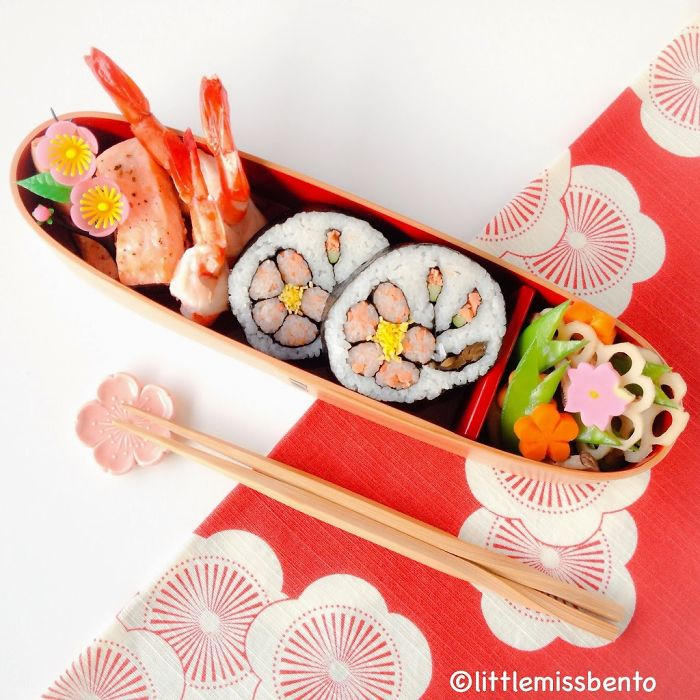 Japanese Plum Sushi Art Roll