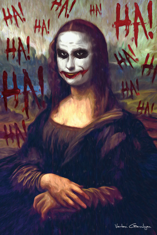 Famous Paintings Reimagined As Scenes From Batman