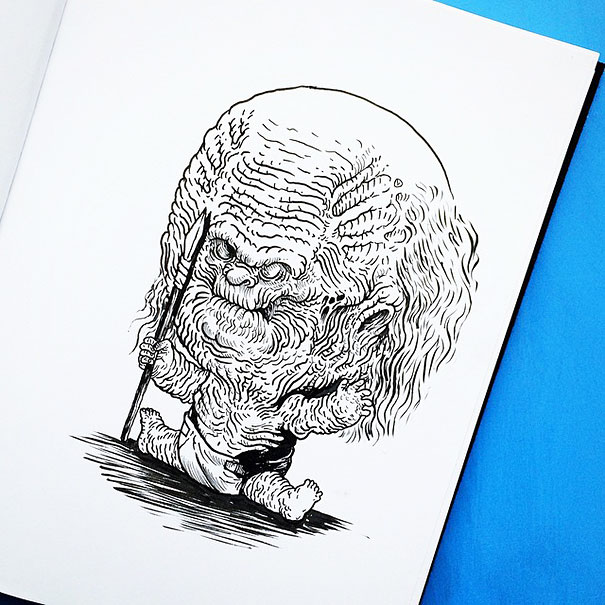 baby-terrors-iconic-horror-monsters-illustrations-alex-solis-14