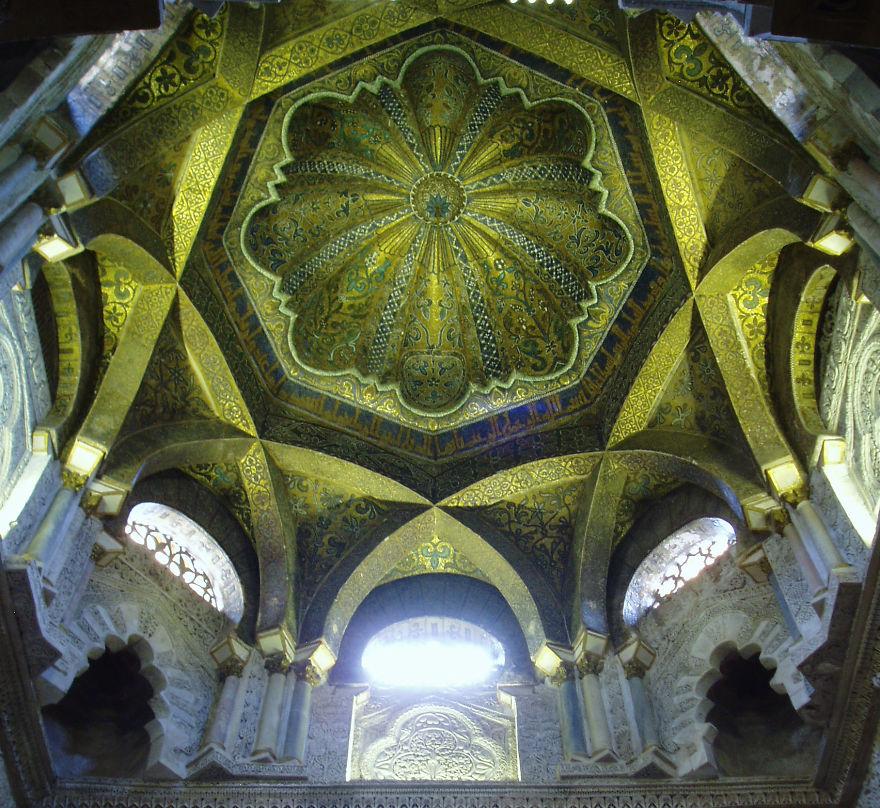 Mihrab Dome, Mezquita, Cordoba, Spain