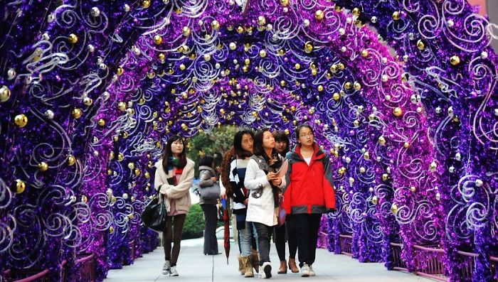 Beijing Xmas Lights