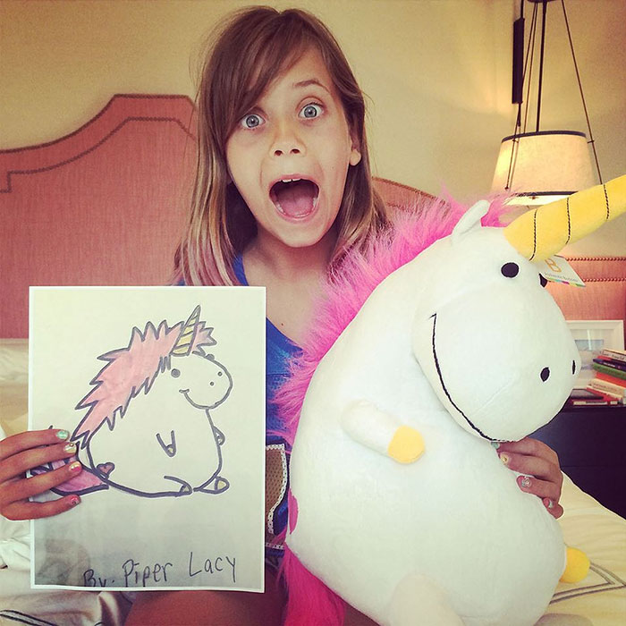 Toy Maker Turns Kids' Drawings Into Real Plushies