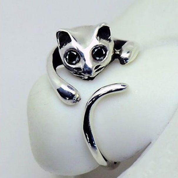Huggable Cat Ring