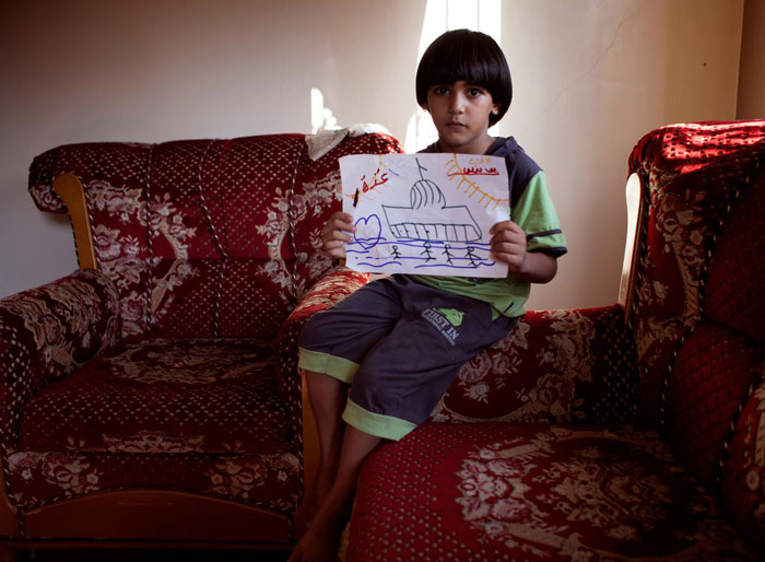 Children In Gaza Were Asked To Draw What The Future Of Gaza Looks Like