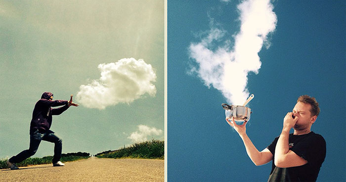 Artist Plays With Clouds In His Imaginative Photos