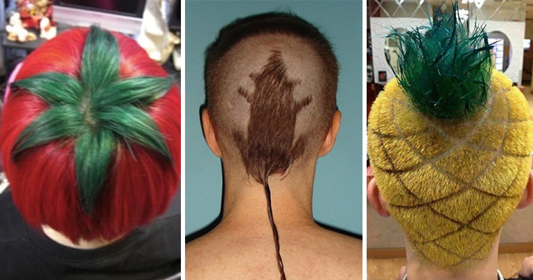 15 Of The Craziest Haircuts Ever Bored Panda
