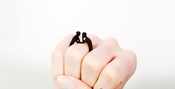 """together"" Ring"