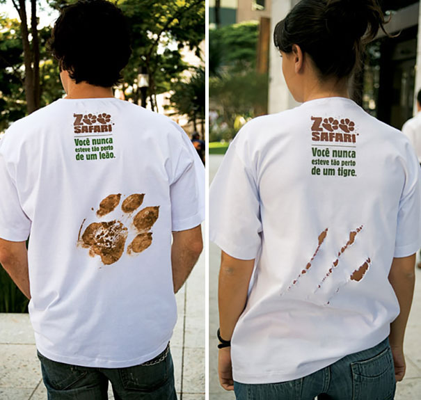 Creative t shirt design - Zoo Safari T-shirt