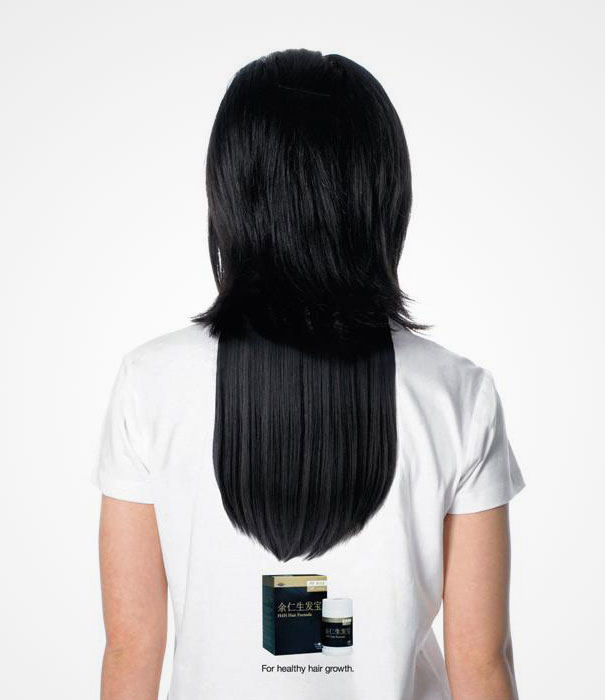 long hair illusion t shirt - Designs For T Shirts Ideas