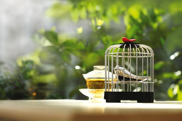 The Alessi Tea Matter Melodic Tea Strainer