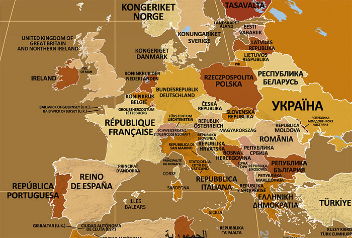 This Map Shows Country Names By How Their People Call Them