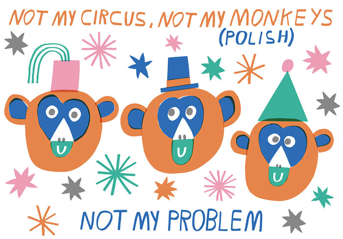 10 Unusual Idioms From Around The World Illustrated