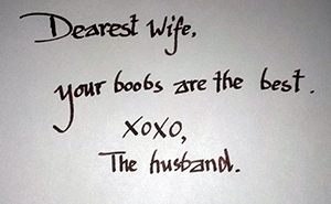 15+ Hilarious Love Notes That Illustrate The Modern Relationship