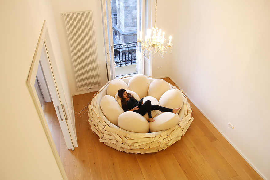 Merveilleux Giant Birds Nest Bed Design Oge Creative Group