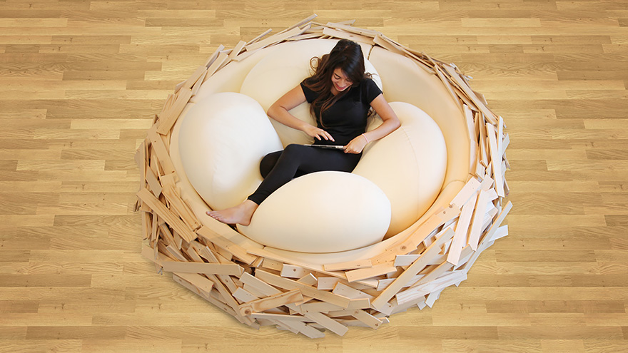 singles in birdsnest Whether it be a boy, girl, singles, or multiples,  this birdsnest bed is such a nurturing space for kids i can visualize the decor i would add to this room.