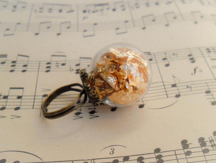 Golden Petals Ring