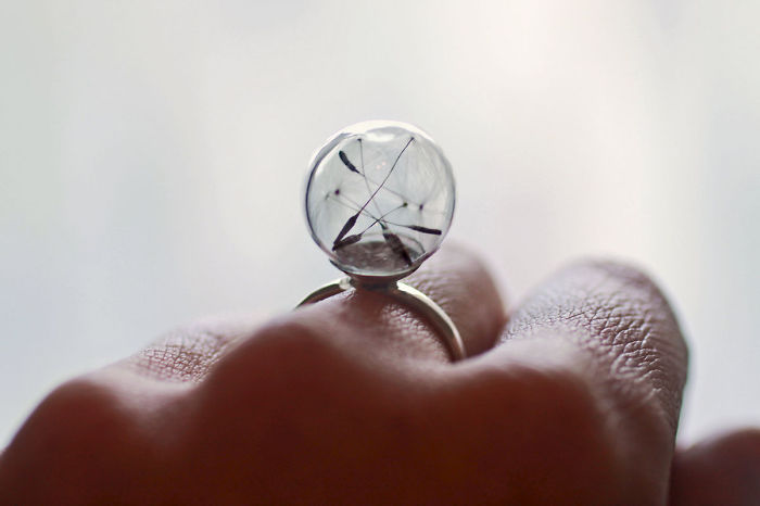 Dandelion Seed Ring