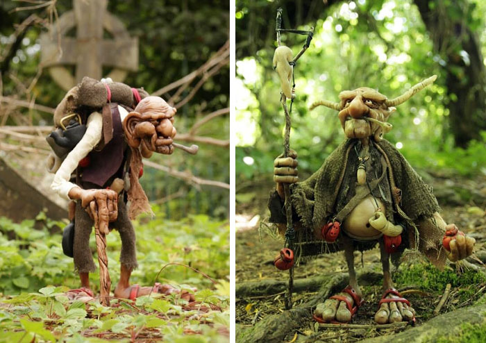 My Sculptures Hate Sitting On A Shelf, So I Bring Them To The Woods