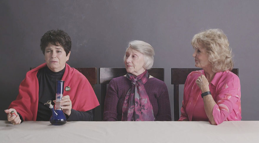 WATCH: Hilarious Grannies Try New Technology