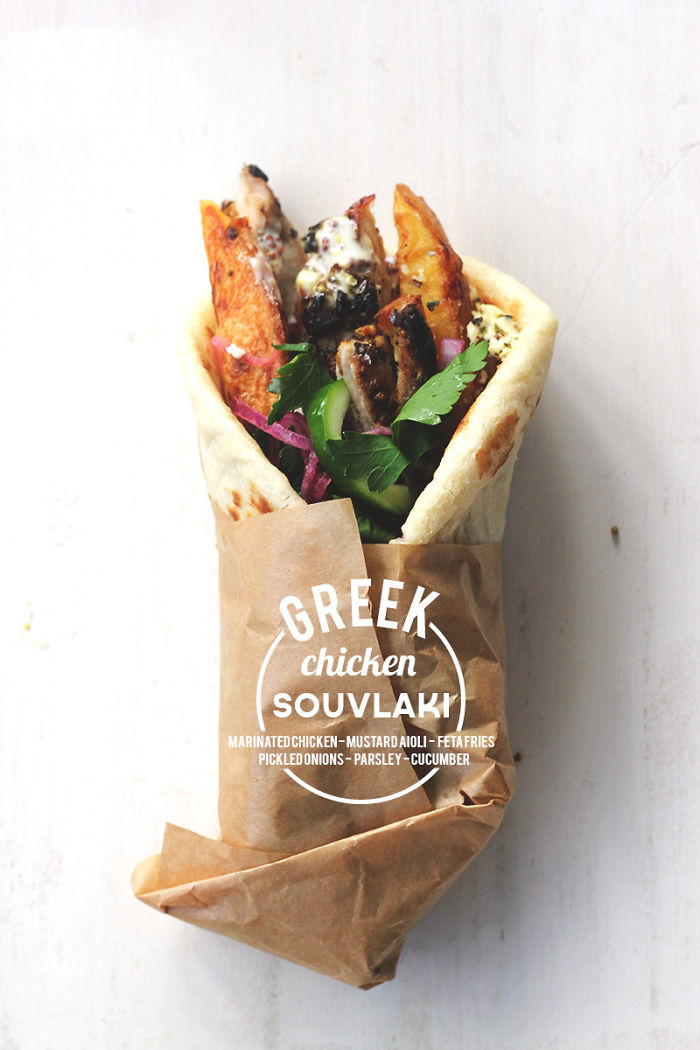 Greek Chicken Souvlaki {street Food Monday}