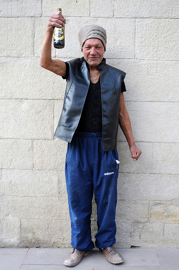 Meet 55-Year-Old Slavik, The Most Fashionable Homeless Man ...