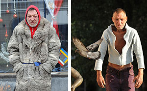 Meet 55-Year-Old Slavik, The Most Fashionable Homeless Man In Ukraine