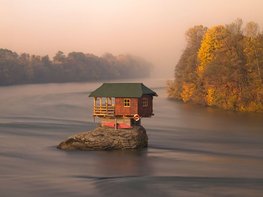 House On Drina River, Serbia