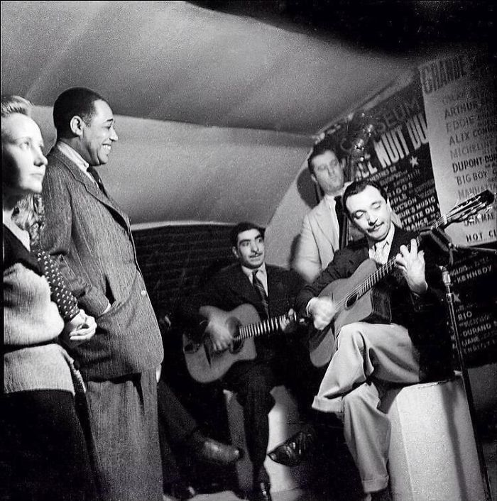 Django Reinhardt Plays For Duke Ellington .