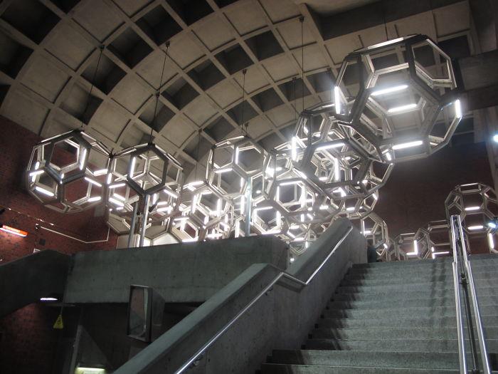 Namur Station Lighting, Montréal