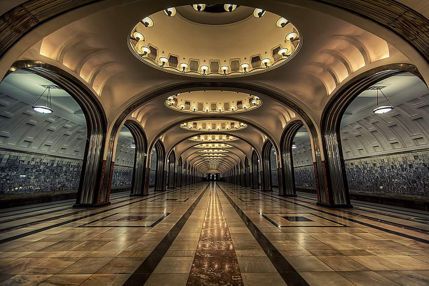 15 of the most beautiful metro stations in the world. Black Bedroom Furniture Sets. Home Design Ideas