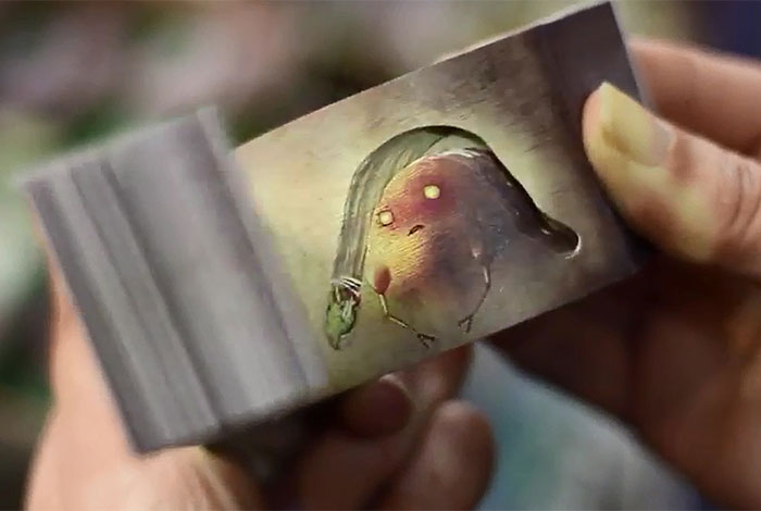 Japanese Flip Books Reveal Magical Stories With Negative Space and Secret Chambers