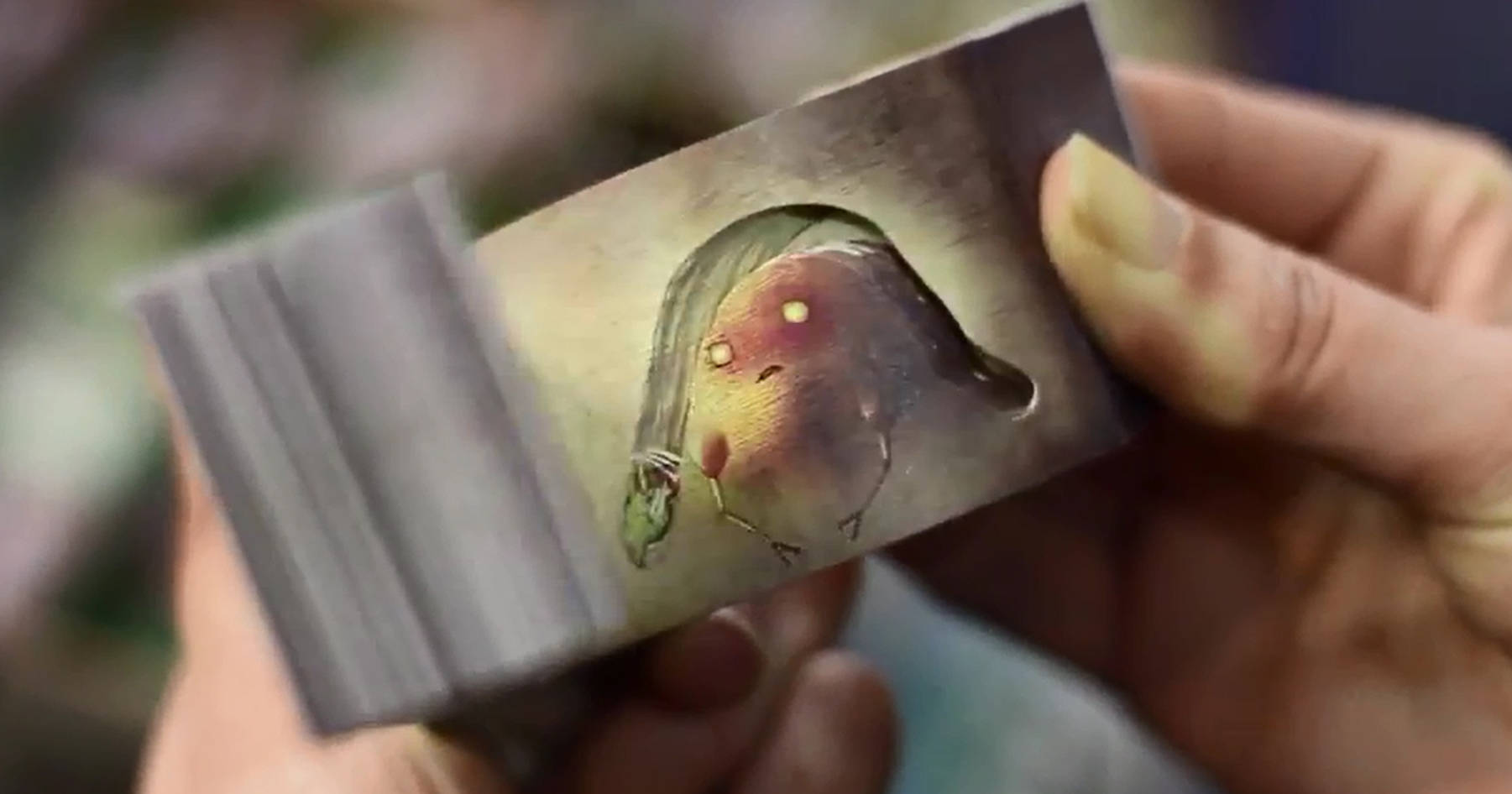 japanese flip books reveal magical stories with negative space and